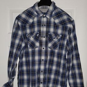 American Eagle Western Style Shirt